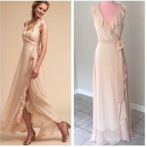 Anthro BHLDN Donna Morgan Juilliard Dress NWOT